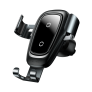 Автомобильное беспроводное Qi зарядное устройство (Air type) Черный
