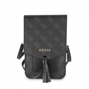 Сумка Guess для смартфонов Wallet Bag 4G Black (GUWBSQGBK)