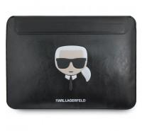 """Чехол Karl Lagerfeld для ноутбуков 13"""" Ikonik Karl Sleeve Black"""