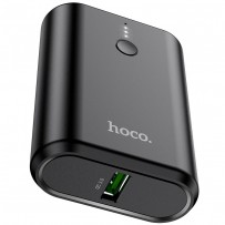 Аккумулятор внешний универсальный Hoco Q3 10000 mAh Mayflower PD+QC3.0 power bank (USB:5V-3.0A Max) 20W Черный