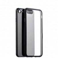 Чехол-накладка силикон Deppa Neo Case супертонкий D-85279 для iPhone 7/8 (4.7) 0.3мм Черный борт