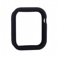 Чехол силиконовый бампер COTEetCI Liquid Silicone Case для Apple Watch Series 4/5 (CS7068-BK) 44мм Черный