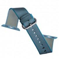 Ремешок COTEetCI W11 NYLON BAND (WH5215-BL-42) для Apple Watch 44мм/ 42мм Sky Blue - Небесно-голубой