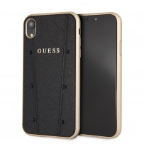 Чехол Guess для iPhone XR (GUFLBKI61KASABK)