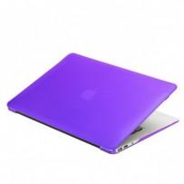 Защитный чехол-накладка BTA-Workshop для Apple MacBook Air 13 матовая фиолетовая