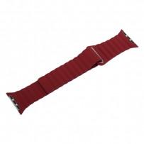 Ремешок кожаный COTEetCI W7 Leather Magnet Band (WH5205-RD) для Apple Watch 40мм/ 38мм Красный