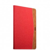 "Чехол тканевый XOOMZ для New iPad 2017г. (9,7"") Simple Fabric Material Made Folio Cover Erudition Series (XID706red) Красный"