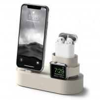 Док-станция Elago Charging Hub 3 in 1 (EST-TRIO-CWH) для устройств Apple (White)