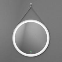 Viken White Зеркало с LED подсветкой, D650, сенсорное управление (белый ремень)
