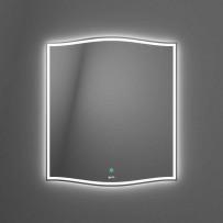 Roxen Зеркало с LED подсветкой, 650х745, сенсорное управление