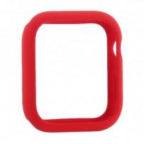 Чехол силиконовый бампер COTEetCI Liquid Silicone Case для Apple Watch Series 4/5 (CS7068-RD) 44мм Красный
