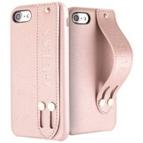 Чехол GUESS для iPhone 7/8 SE 2 Iridescent Hard with hand strap Rose Gold