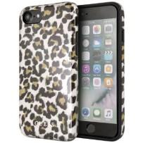 Чехол GUESS для iPhone 7/8 SE 2 Los Angeles Hard TPU Shiny Leopard
