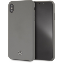 Чехол Mercedes-Benz  для iPhone XS Max Silicone line Hard Grey