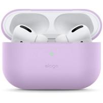 Чехол Elago для AirPods Pro Slim Silicone case Lavender