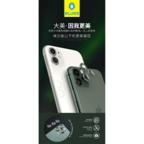 Защитное стекло BLUEO 2.5D Camera ARMOR lens (армир. кромка) для iPhone 11 Pro/11 Pro Max, 0.25mm Green