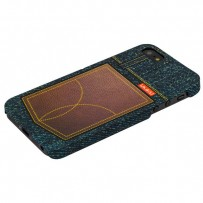 Накладка пластиковая Umku Jeans для iPhone 5s/ 5 Soft-touch вид 7
