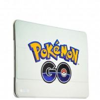 Чехол-книжка кожаный Birscon для iPad Air 2 Fashion series с рисунком UV-print (Pokemon GO) тип 03