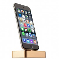 Док-станция COTEetCI Base6 Lightning stand CS2310-CEG для iPhone XS/ XS MAX/ 8 Plus/ 8/ 7 Plus7/ 6/ SE/ iPod touch Золотистая