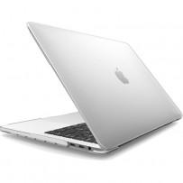 """Защитный чехол-накладка HardShell Case для Apple MacBook New Pro 16"""" Touch Bar (2019г.) A2141 матовая прозрачная"""