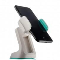 Автомобильный держатель COTEetCI ST-06 L для смартфонов (ST3106-WH) универсальный с присоской (ширина 80mm) Белый
