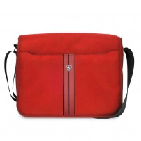 "Сумка Ferrari для ноутбуков 13"" Urban CMessenger Bag Nylon/PU Red"