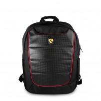 """Рюкзак Ferrari для ноутбуков 15"""" Scuderia Backpack Nylon/PU Black"""