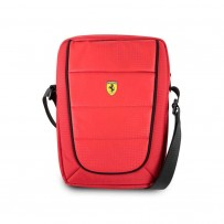 "Сумка Ferrari для планшетов 10"" Scuderia Bag Nylon/PU Red"