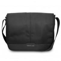 """Сумка Cerruti для ноутбуков 15"""" Messenger Bag Nylon/Leather Black"""