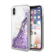 Чехол Guess для iPhone X/XS Glitter Shine Hard Purple (GUHCPXGLUQPU)