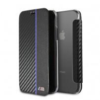 Чехол BMW, для iPhone XS/ X (BMFLBKPXTRCAPNBK)