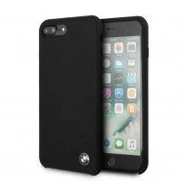 Чехол BMW для iPhone 7/8 PLUS Signature Liquid silicone Hard Black