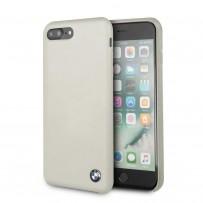 Чехол BMW для iPhone 7/8 PLUS Signature Liquid silicone Hard Taupe