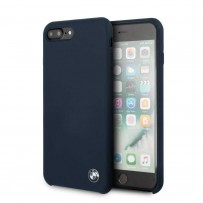 Чехол BMW для iPhone 7/8 PLUS Signature Liquid silicone Hard Navy