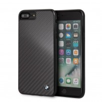Чехол BMW для iPhone 7/8 PLUS Signature Real carbon Hard Black