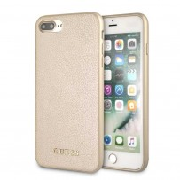 Чехол Guess для iPhone 7/ 8 Plus Iridescent Hard PU Gold