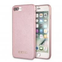 Чехол Guess для iPhone 7/ 8 Plus Iridescent Hard PU Rose Gold