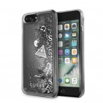Чехол Guess для iPhone 7/ 8 Plus Glitter Hard Silver