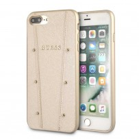 Чехол Guess для iPhone 7/ 8 Plus KAIA collection Hard Gold