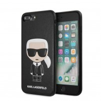 Чехол KARL Lagerfeld для iPhone 7/8 Plus PU Leather Iconic Karl Hard Black