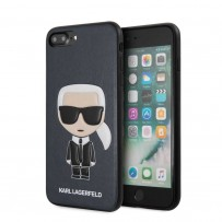 Чехол KARL Lagerfeld для iPhone 7/8 PLUS PU Leather Iconic Karl Hard Blue
