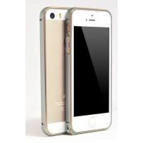 """Бампер алюминиевый для iPhone 5/5S, """"Grey""""."""