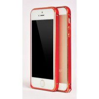 "Бампер алюминиевый для iPhone 5/5S, ""Red""."