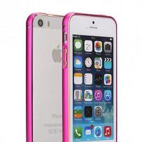 "Бампер алюминиевый для iPhone 5/5S, ""Фуксия""."