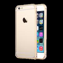 """Бампер алюминиевый """"DX"""" для iPhone 6, золото"""