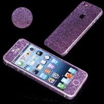 """Защитная, противоскользящая пленка """"Magic sticker"""" для iPhone 5/5s, фиолетовый"""