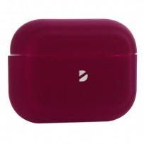 Чехол силиконовый Deppa для AirPods Pro (D-47034) 1.3мм Бургунди