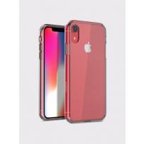 Противоударный чехол-лёд для iPhone XR, кристально-прозрачный