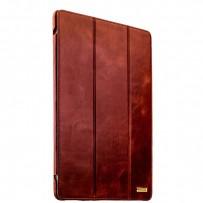 """Чехол кожаный i-Carer для iPad Pro (12,9"""") Vintage Series (RID701br) Коричневый"""