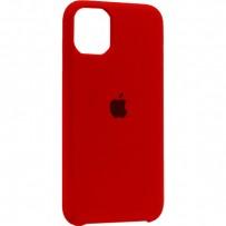 """Чехол-накладка силиконовый Silicone Case для iPhone 11 (6.1"""") Product red Красный №14"""